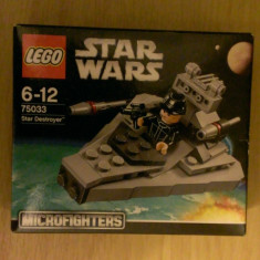 Lego Star Wars 75033 - Star Destroyer (Microfighters) - nou, sigilat in cutie, 6-10 ani