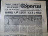 Ziarul Sport(7 noiembrie 1977)-Etapa a 2-a la fotbal, Dinamo-Penicilina Iasi la