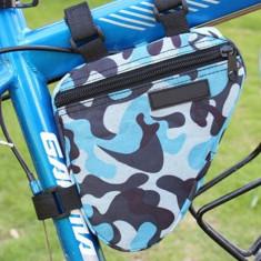 Portbagaj bicicleta geanta model army cadru bicicleta spatiu depozitare - Accesoriu Bicicleta