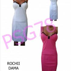 ROCHII DE VARA - MEXTON, MODEL DEOSEBIT, LIVRARE GRATUITA - Rochie de zi, Marime: 36, 38, Culoare: Alb, Roz, Midi, Cu bretele, Bumbac