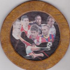 Suport de pahar din lemn, Liga