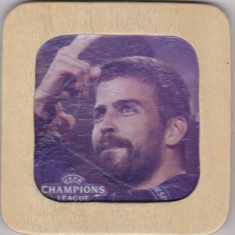 Suport de pahar din lemn Uefa Champions League