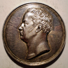 5.257 MEDALIE GERMANIA ERINNERUNG WILHELM I JUBILEU 1840 ARGINT 45mm/51g BRANDT, Europa