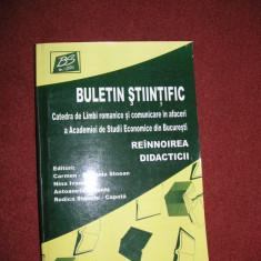 Buletin Stiintific - Reinnoirea didacticii