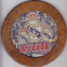 Suport de pahar din lemn , Real Madrid