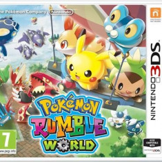 Pokemon Rumble World Nintendo 3Ds - Jocuri Nintendo 3DS, Actiune, Toate varstele, Single player