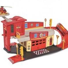 Jucarie Fireman Sam Fire Station Die Cast Playset - Vehicul