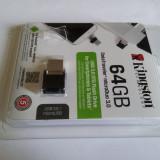 Stick USB Kingston 64GB Data Traveler Micro Duo USB 3.0 Micro USB OTG