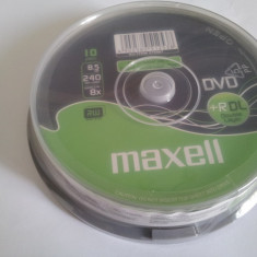 DVD +R DL Double Layer 8.5GB MAXELL Speed 2.4-8X EU:ITEM275987
