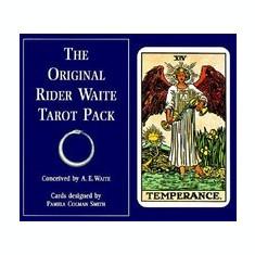 The Original Rider Waite Tarot Set - Carte in engleza