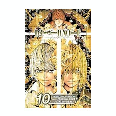 Death Note, Volume 10 - Carte in engleza