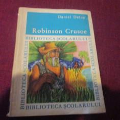 DANIEL DEFOE - ROBINSON CRUSOE - Carte de povesti