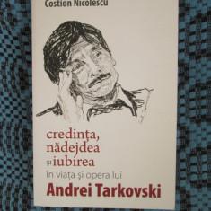 Costion NICOLESCU - VIATA SI OPERA LUI ANDREI TARKOVSKI (2013 - NOUA!!!)