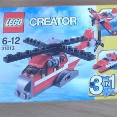 Lego Creator 31013 original - Elicopter Tunetul Rosu - nou, sigilat in cutie