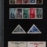 1945 l.p. 181, 181a, 182, 183, 184 conditie perfecta - Timbre Romania, Nestampilat