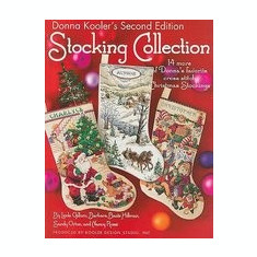 Donna Kooler's Stocking Collection: 14 More of Donna's Favorite Cross Stitch Christmas Stockings - Carte in engleza