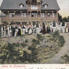 JOCURI POPULARE, HORA LA COMARNIC, CIRCULATA IAN.''06 - Carte Postala Muntenia 1904-1918, Printata