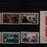 1945 l.p. 168-169 conditie perfecta - Timbre Romania, Nestampilat
