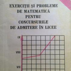 EXERCITII SI PROBLEME DE MATEMATICA PT CONCURSURILE DE ADMITERE IN LICEE - Grama - Culegere Matematica