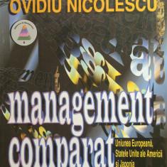 MANAGEMENT COMPARAT - Ovidiu Nicolescu - Carte Management