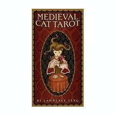 Medieval Cat Tarot - Carte in engleza
