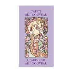 Tarot Art Nouveau Mini - Carte in engleza