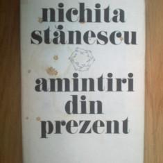 W3 Amintiri Din Prezent - Nichita Stanescu