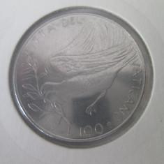 Vatican 100 lire 1976 aUNC, Europa, Fier