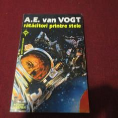 A E VAN VOGT - RATACITORI PRINTRE STELE - Carte SF