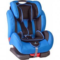 Caretero DIABLOFix ISOFIX 9-36 Kg Blue - Scaun auto copii Caretero, 1-2-3 (9-36 kg)