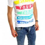 Tricou tip ZARA - tricou barbati - tricou slim fit - tricou fashion - 6179
