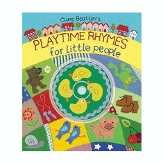 Playtime Rhymes for Little People [With CD] - Carte in engleza