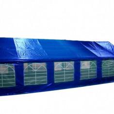 Cort de evenimente, semiprofesional 6x12 m, albastru - Mobila terasa gradina
