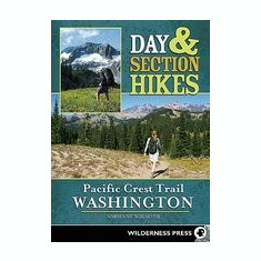 Pacific Crest Trail Washington - Carte in engleza