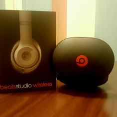 Vand casti beats studio wireless by Dr. Dre Monster Beats by Dr. Dre, Casti Over Ear, Active Noise Cancelling