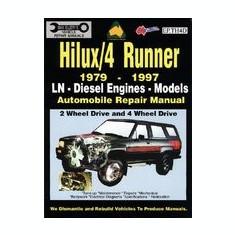 Toyota Hilux/4 Runner Diesel 1979-1997 Auto Repair Manual-Ln, Diesel Eng 2 & 4 Wheel Drive - Carte in engleza