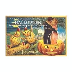 Halloween: Romantic Art and Customs of Yesteryear Postcard Book