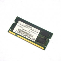 Memorie laptop Infineon 512MB 266 MHz PC2100 DDR SDRAM SODIMM CL 2 HYS64D64020GBDL-7-B