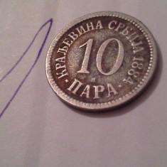 10 PARA  1884/1  SERBIA