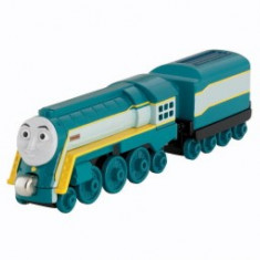 Locomotiva Connor, Thomas si prietenii sai, seria Take'n Play / Take along - Trenulet Fisher Price, 2-4 ani, Metal, Unisex