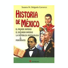 Historia de Mexico - Carte in engleza
