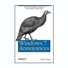 Windows 7 Annoyances - Carte in engleza
