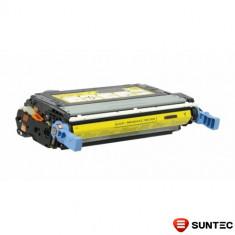 Cartus toner compatibil Yellow KMP Q6462A HP (644A) pentru imprimanta HP Color Laserjet 4730 CM4730