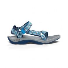 Sandale de dama Teva Hurricane 3 Mini Denim Blue (TVA-6577-MDMB) - Sandale dama Teva, Culoare: Albastru, Marime: 39, 40