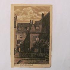"CY - Ilustrata veche BONN Germania ""Casa Beethoven"" necirculata"