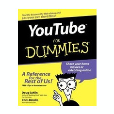 YouTube for Dummies - Carte in engleza