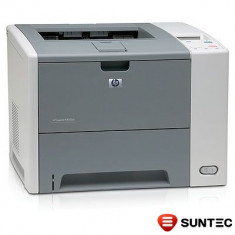 Imprimanta laser HP LaserJet P3005dn (duplex + retea) Q7815A, cuptor uzat, fara cartus