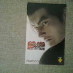 Manual - Tekken TAG Tournament - PS2 ( GameLand )