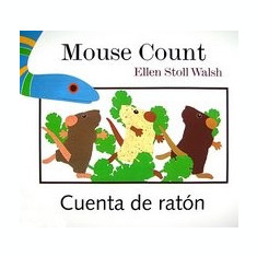 Mouse Count/Cuenta de Raton: [Lap-Sized Board Book] - Carte in engleza
