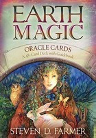 Earth Magic Oracle Cards: A 48-Card Deck and Guidebook foto